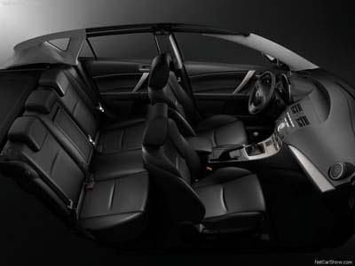 2010 Mazda 3 i-stop Interior Room
