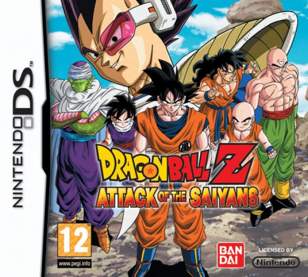 Dragon Ball Z Attack Of The Saiyans [NDS][ESP]