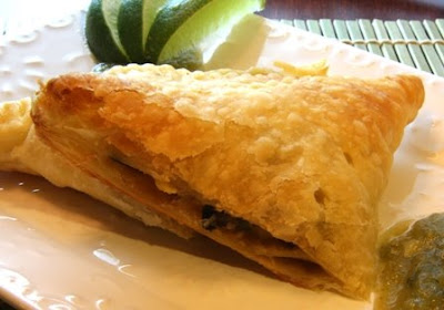 Cooking Dunkin Style: Chicken, Black Bean and Corn Empanadas