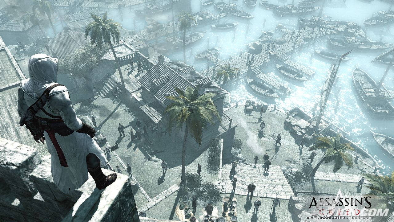 Imagenes de Assassins Creed 1 y 2
