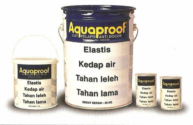 Lindungi Dak Beton Anda Dengan Waterproof..