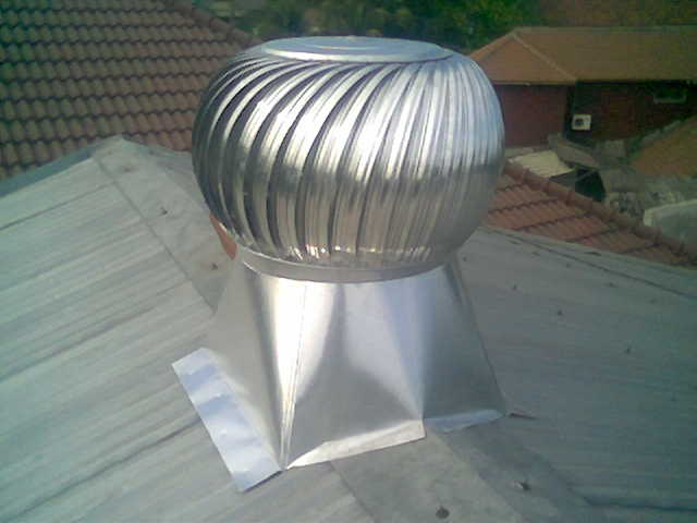 Turbin Ventilator Untuk Rumah Tinggal, bikin Sejuk..!!