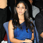 Nayanthara Spicy in Blue Saree   Pics