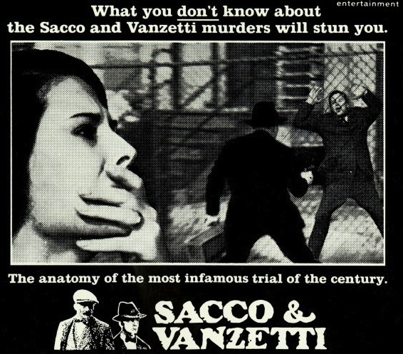 sacco and vanzetti summary essay The role of sacco and vanzetti case in the history of the united states of america.