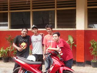 Hendra, Ryan, Eri, Ardiansyah