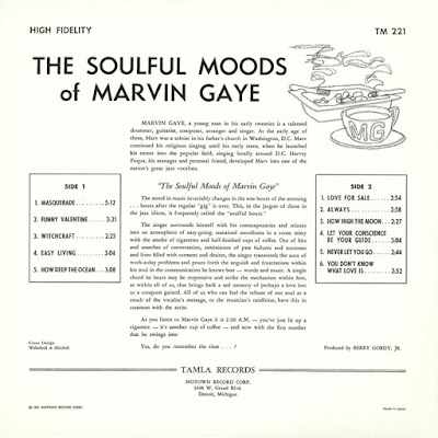 Marvin Gaye - The Soulful Moods of (1st Album US 1961)