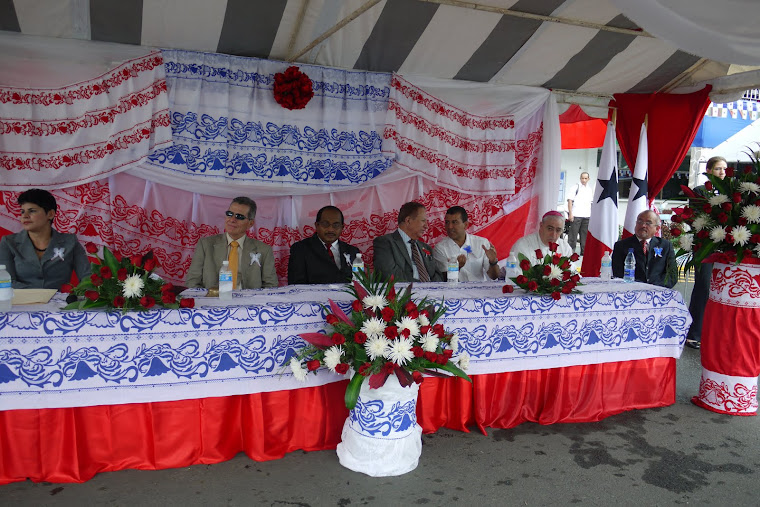 EL RECTOR DE LA UNACHI, CON LAS AUTORIDADES DE LA PROVINCIA DE CHIRIQUI