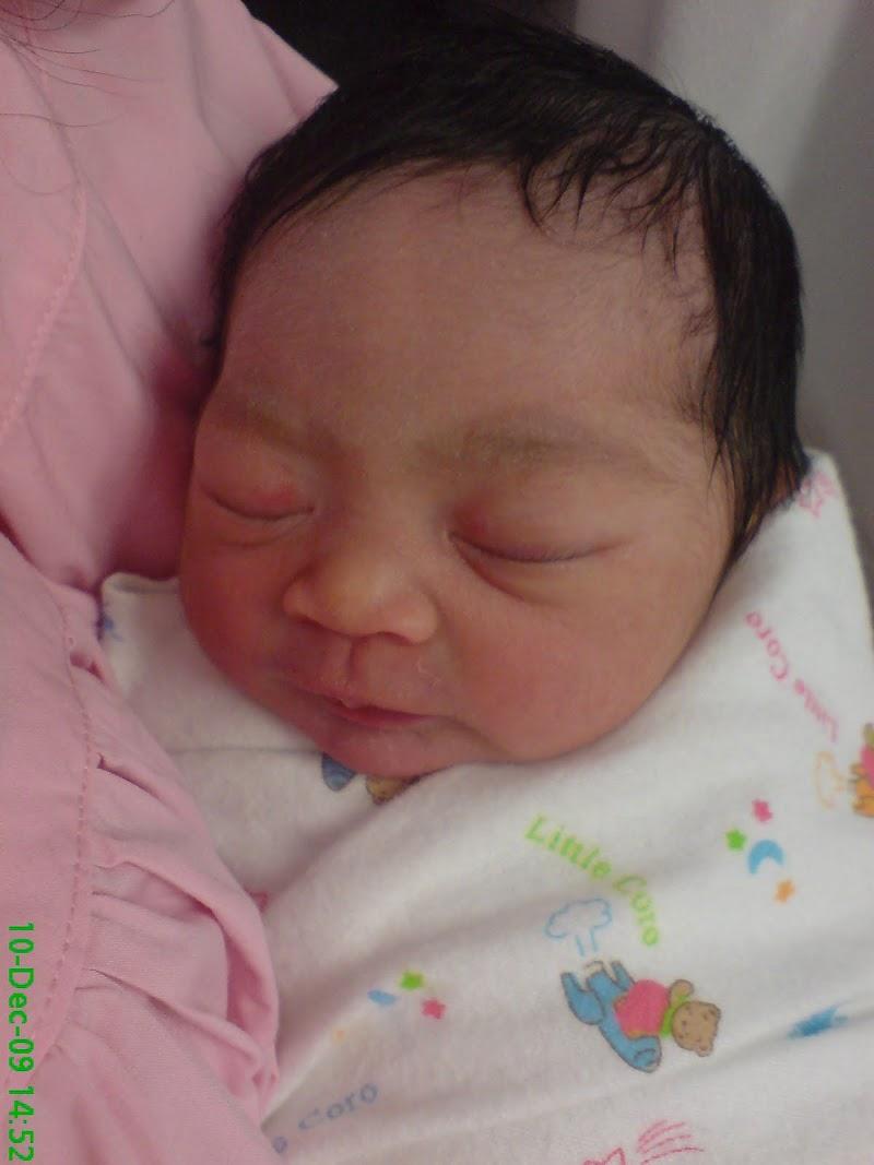 Kelahiran Alisha Adnain