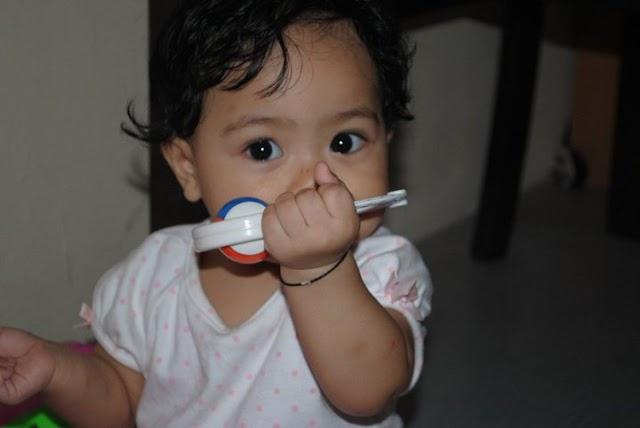 Alisha dah 8 bulan.