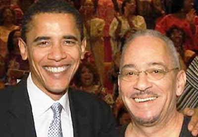Barack Obama (pictured here with TUCC Rev. Jeremiah Wright Jr.)