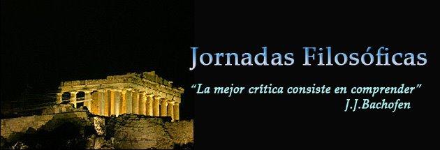 JORNADAS FILOSÓFICAS