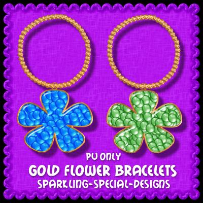 http://sparkling-special-designs.blogspot.com/2009/05/gold-flower-bracelets.html