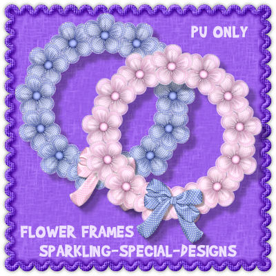 http://sparkling-special-designs.blogspot.com/2009/06/flower-frames-with-bows.html