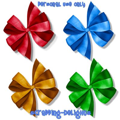 http://scrapping-delights.blogspot.com/2009/11/tagger-size-bows-freebie.html