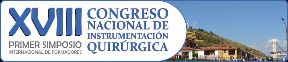 XVIII Congreso Nacional de Instrumentación Quirúrgica
