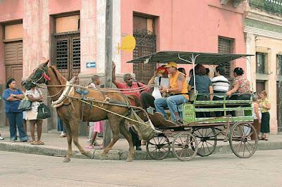 Cuba, transporte público