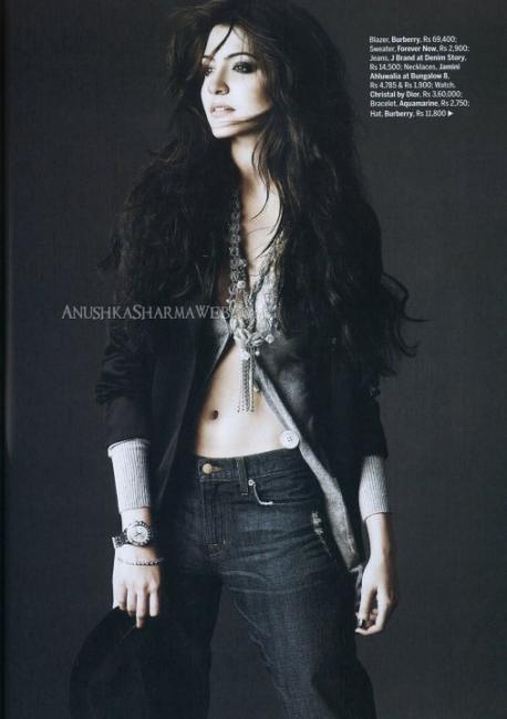 Anushka Sharma Hot Scans