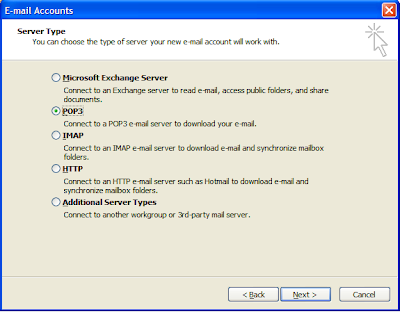 How To Setup E-mail Account In Outlook Express