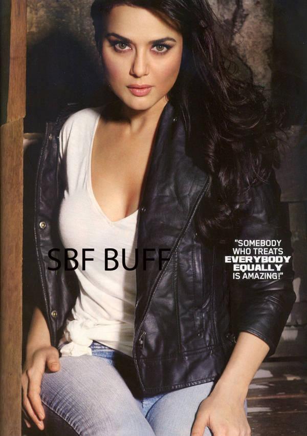 Preity Zinta sexy looks in MAXIM
