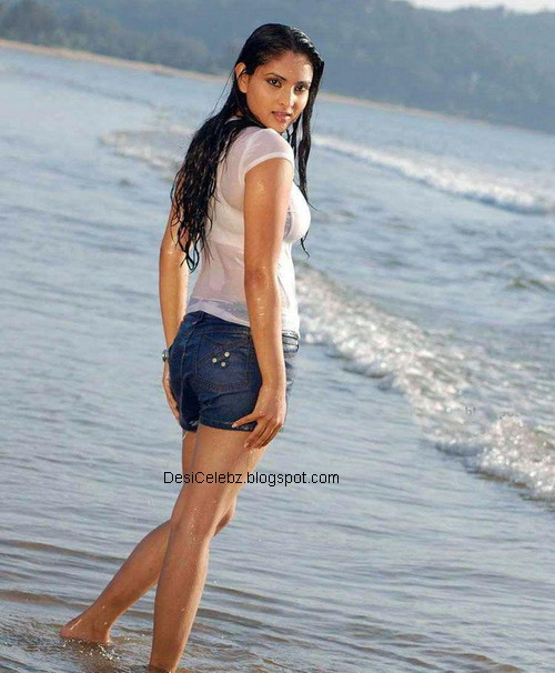 Divya Spandana hot wet curves