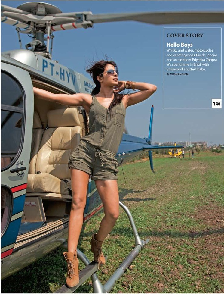 Priyanka Chopra hot spicy photoshoot for MW magazine