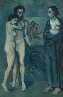 'La vida', de Picasso, es una de las obras expuestas en Nueva York
