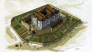 Recreación del palacio de Teobaldo II