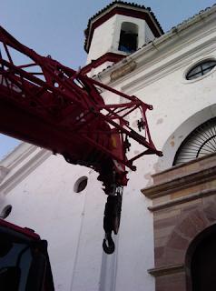 Estado actual de las obras [Foto: Benjamín Castellano]