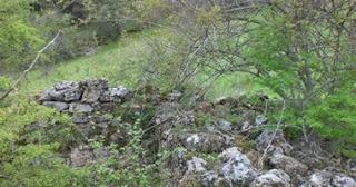Restos de la ermita descubierta [Foto: Siro Sanz]
