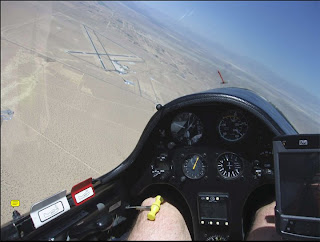 Inyokern Airport, low save at 470 ft AGL