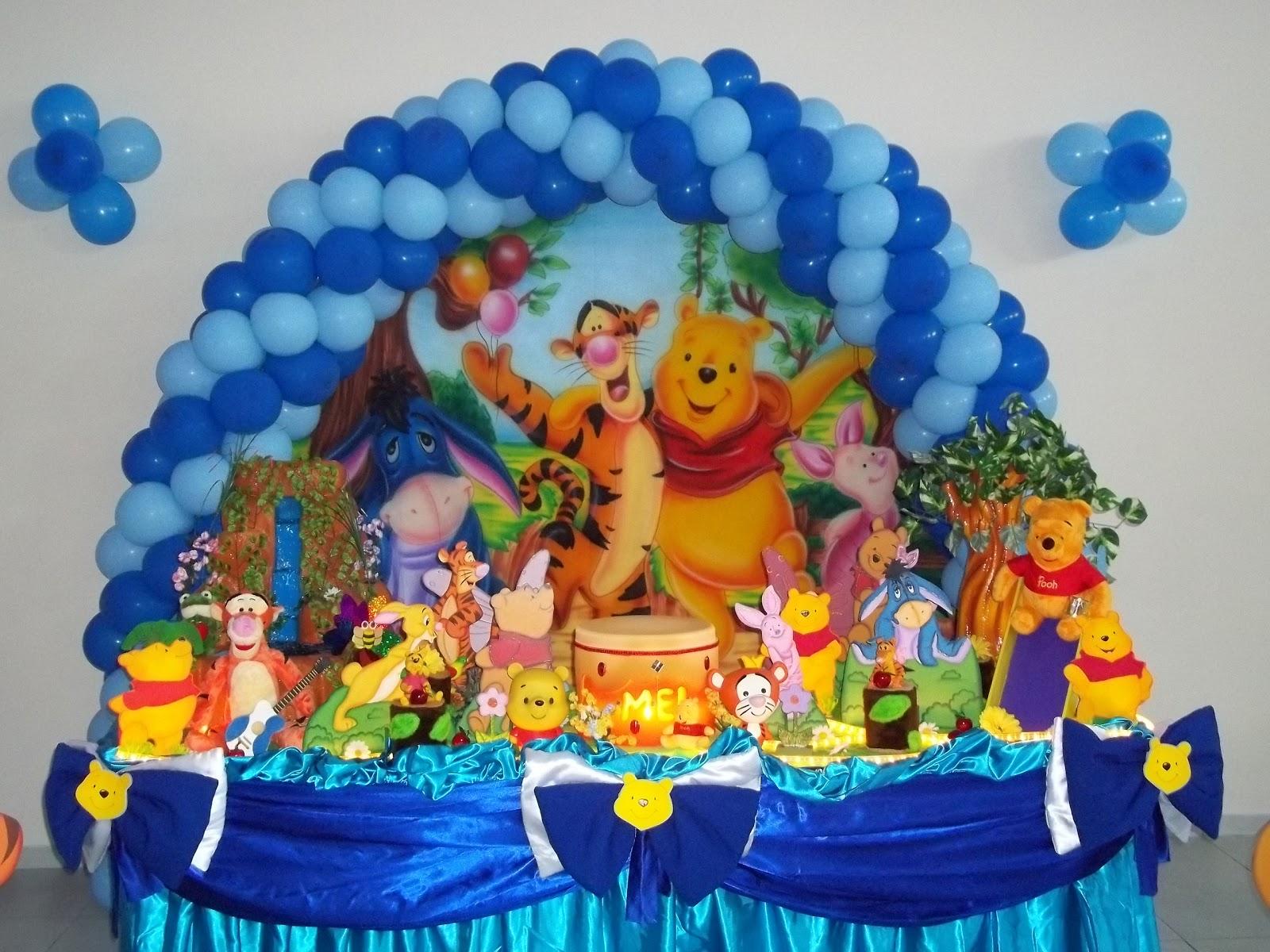 Pin Festa Infantil Pooh Pelautscom on Pinterest