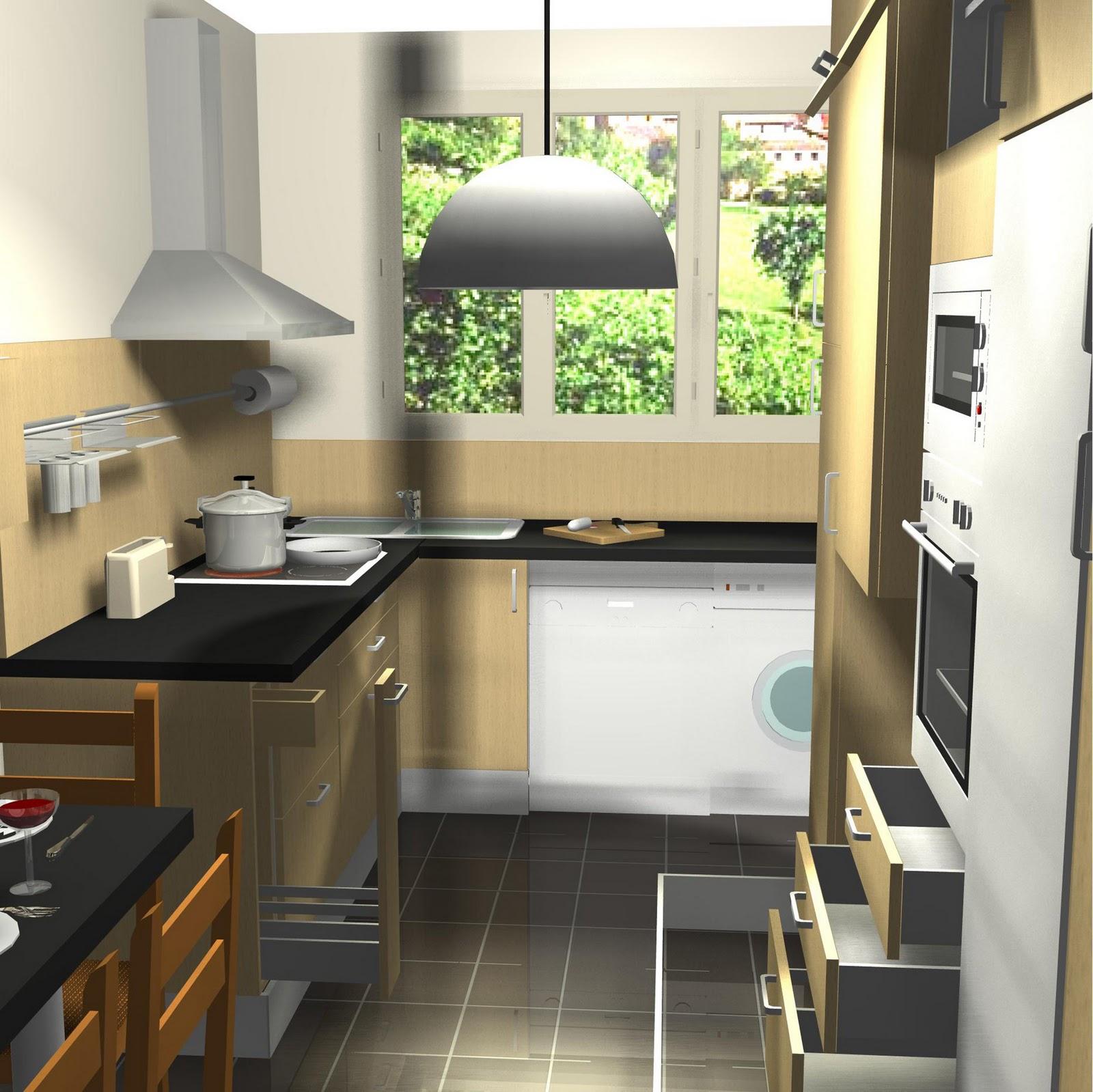 Victor cuisine bain d coration maquette 3d for Maquette cuisine 3d