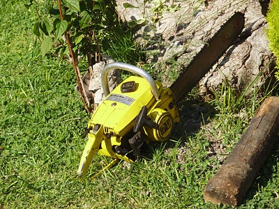 McCulloch 1-10 chainsaw