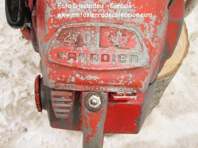 Canadien 270 chainsaw