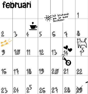 Super Lille Lykke: Zelf maken - kalender 2009 @MR41