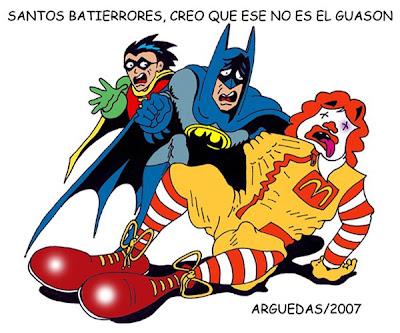 Humor Grafico, Batman se equivoca