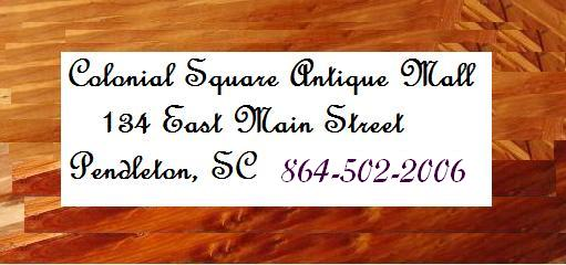Colonial Square Antique Mall, LLC