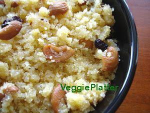 Cornmeal Halwa