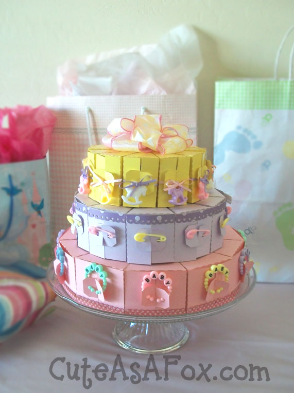Baby Shower Cake Slice Boxes