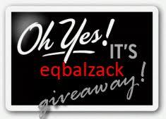 eqbalzack 2010 Giveaway Contest