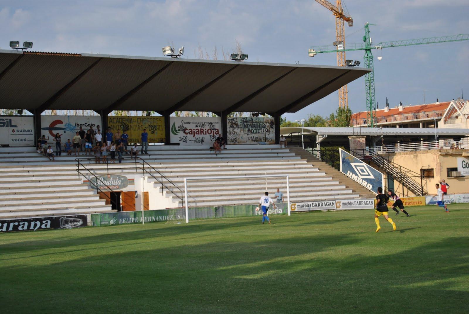 Estadio de La Planilla, feudo habitual del Calahorra