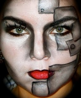 a collection of the best face art makeup