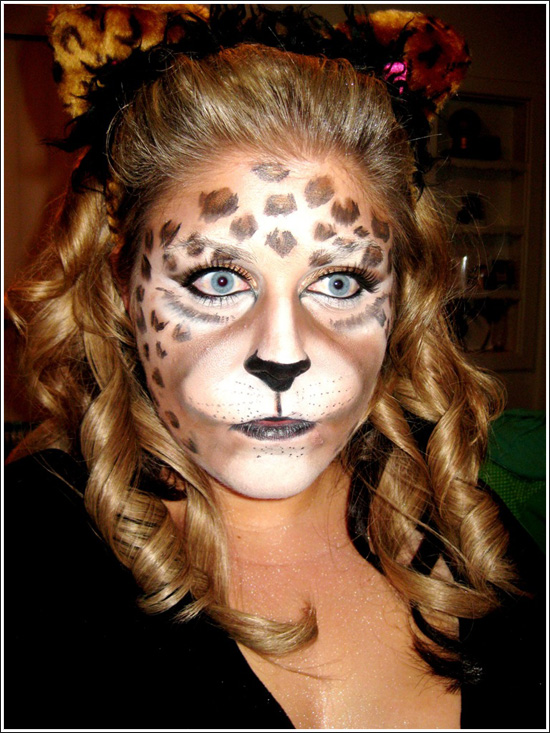 Animal Face Art Beastly Makeup Portraits