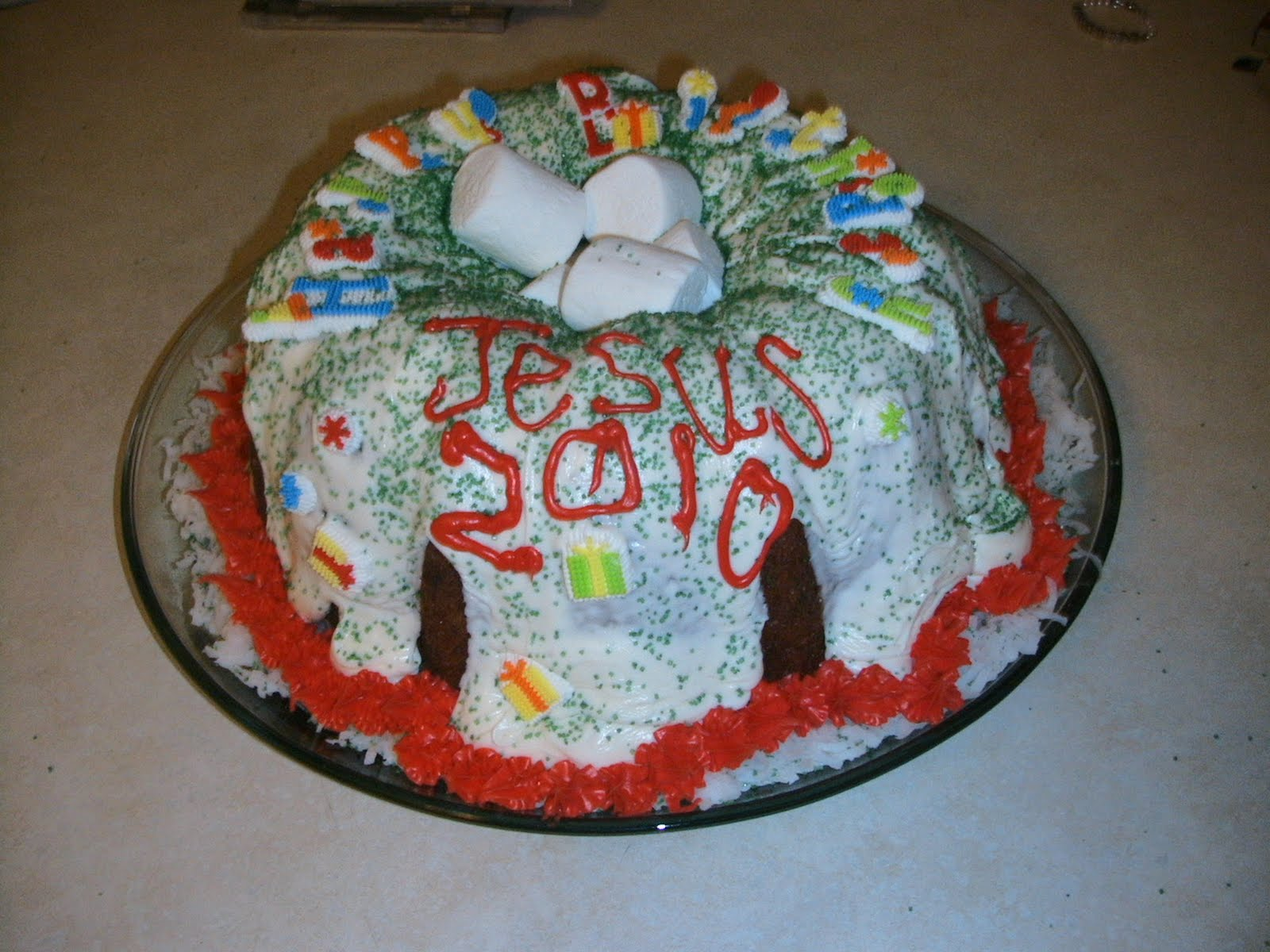 Happy Birthday Jesus 2010