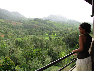 rock view motel sinharaja kalawana sri lanka view of forest from balcony