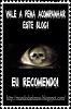 """Premio """"blog recomendado"""""""
