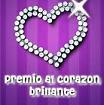 Premio al corazón brillante