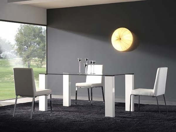 Mesas De Cristal Transparente