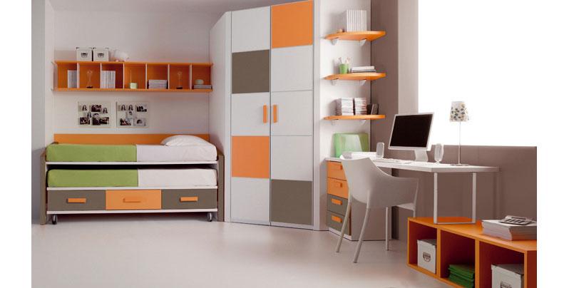un mismo dormitorio diferentes colores