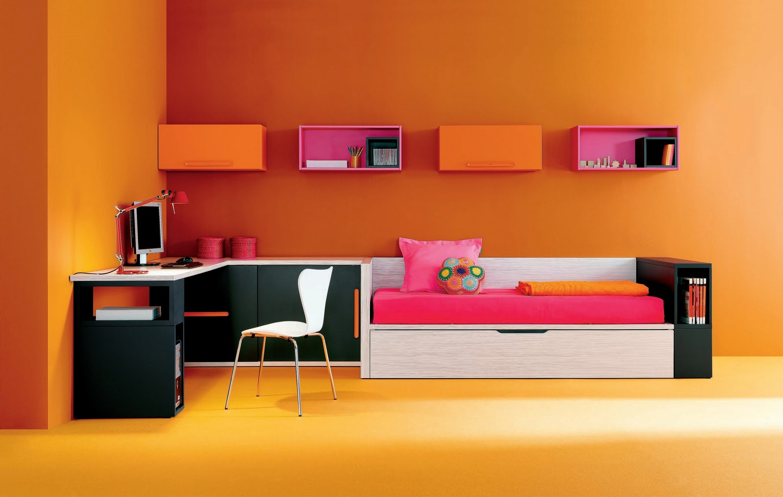 Dormitorios infantiles y juveniles para ni as ni os y for Cool small bedroom designs